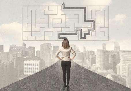 navigate the maze